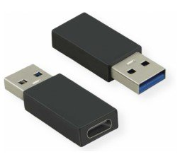 Slika izdelka: Adapter USB-A M 3.2 Gen 1 - USB Tip-C Ž 3.2 Gen 1 Value