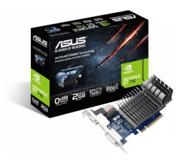 Slika izdelka: ASUS GeForce GT 710 2GB DDR3 Silent (710-2-SL) low profile grafična kartica