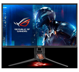 Slika izdelka: ASUS PG258Q 24.5'' ROG SWIFT Gaming monitor, 1920 x 1080, 1ms, 240Hz, DisplayPort, USB3.0