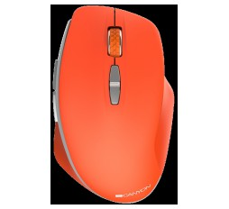 Slika izdelka: Canyon  2.4 GHz  Wireless mouse ,with 7 buttons, DPI 800/1200/1600, Battery:AAA*2pcs  ,Red 72*117*41mm 0.075kg