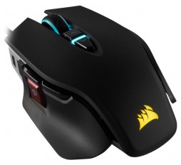 Slika izdelka: CORSAIR M65 RGB ELITE Tunable FPS Gaming Mouse, Black, Backlit RGB LED, 18000 DPI, Optical
