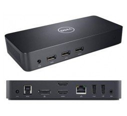 Slika izdelka: Dell USB 3.0 3x UHD Video Docking Station D3100