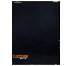 Slika izdelka: floor mats for gaming chair Size: 100x130cm lower side:antislip basedurable polyester fabricColor: Black  with canyon logo