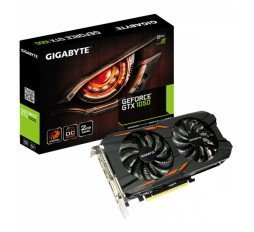 Slika izdelka: GIGABYTE GeForce GTX 1050 Windforce OC 2GB GDDR5 (GV-N1050WF2OC-2GD) grafična kartica