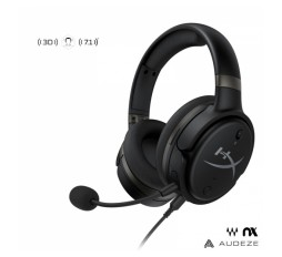 Slika izdelka: HyperX Cloud Orbit S 3,5mm/USB-A/USB-C Waves Nx head tracking mikrofon Noise Cancelling naglavne črne gaming slušalke