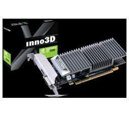 Slika izdelka: Inno3D Video Card GeForce GT 1030 GDDR5 2GB/64bit, 1227MHz/1468-boost, 6008 MHz , PCI-E 3.0 x16, HDMI, DVI-D, Passive, Retail