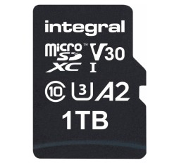 Slika izdelka: Integral 1TB Professional High Speed 180MB/s microSDXC V30 UHS-I U3