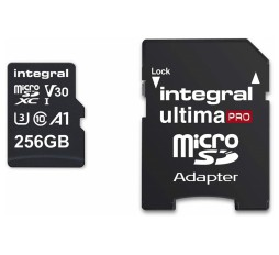 Slika izdelka: Integral 256GB Professional High Speed 180MB/s microSDXC V30 UHS-I U3