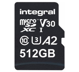 Slika izdelka: Integral 512GB Professional High Speed 180MB/s microSDXC V30 UHS-I U3