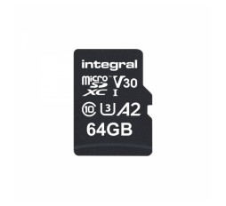 Slika izdelka: Integral 64GB Professional High Speed 180MB/s microSDXC V30 UHS-I U3