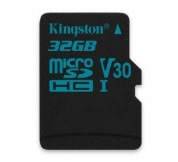 Slika izdelka: KINGSTON Canvas Go! microSD 32GB Class 10 UHS-I U3 (SDCG2/32GB) adapter spominska kartica