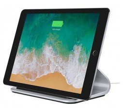 Slika izdelka: LOGITECH BASE Charging Stand with Smart Connector technology For iPad Pro 12 inch and iPad Pro 9.7 inch - SILVER - EMEA - NON APPLE