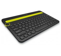 Slika izdelka: LOGITECH Bluetooth Multi-Device Keyboard K480 - BLACK - DEU - BT - CENTRAL