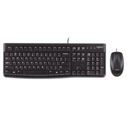 Slika izdelka: LOGITECH Corded Desktop MK120 - EER - US International layout