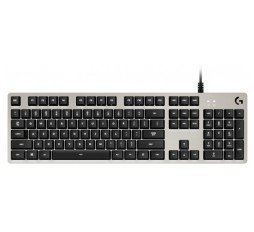 Slika izdelka: LOGITECH G413 Mechanical Gaming Keyboard - SILVER - US INT'L - USB - INTNL - WHITE LED