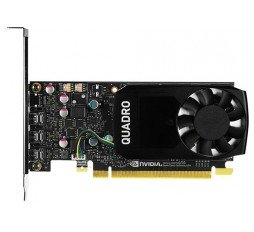 Slika izdelka: NVIDIA Video Card Quadro P400 GDDR5 2GB/64bit, 256 CUDA Cores, PCI-E 3.0 x16, 3xminiDP, Cooler, Single Slot, Low Profile