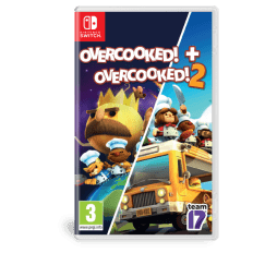 Slika izdelka: Overcooked + Overcooked 2 Double Pack (Switch)