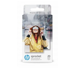 Slika izdelka: PAPIR HP ZINK STICKY-BACKED PHOTO  5 X 7,6 cm  20 LISTOV