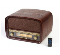 Slika izdelka: Retro gramofon/radio/CD player/USB player/snemalnik MP3