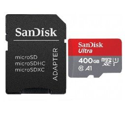Slika izdelka: SanDisk ULTRA ANDROID Micro SDXC 400GB 100MB/s Class 10 UHS-I