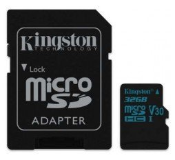 Slika izdelka: SDHC KINGSTON MICRO 32GB CANVAS GO, 90