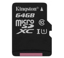 Slika izdelka: SDXC KINGSTON MICRO 64GB CANVAS SELECT, 80MB