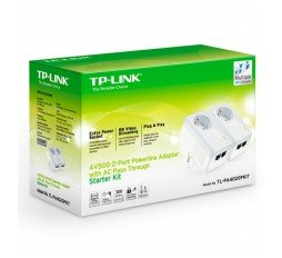Slika izdelka: TP-LINK TL-PA4020KIT AV600 powerline starter kit adapter