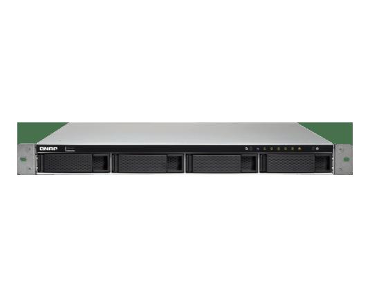 QNAP TS-463XU-4G 1U 4-Bay AMD 64bit x86-based NAS strežnik